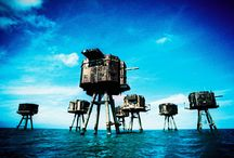 Sea forts & military architecture / A board about sea forts. They can be built on islands or directly rising from the bottom of the seas and oceans. But they are always impressive pieces of military architecture. Military architecture is often huge and well realised.