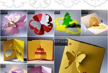 origami, kirigami
