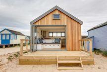 Beach cabin strandslaaphuisje