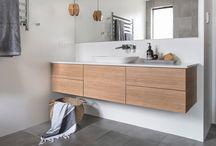 meble łazienkowe na wzór