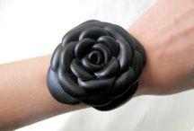 bracciale con fiore