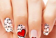 Uñas San Valentín