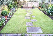 Çim bahçe