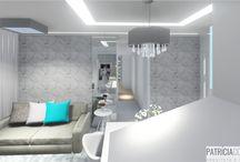 Projetos de Interiores / www.patriciacousseau.com