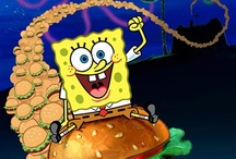 spongebob squarepans / One of my favourite children's tv shows