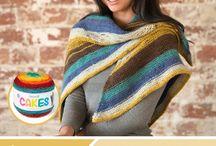 Cake yarn