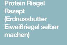 Protein- u. Eiweißriegel