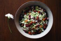 Salater og grønt / Sprøde, faverige og sude salater