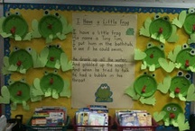 literacy display board