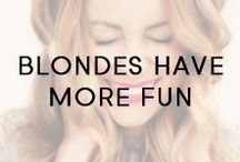 Blondes Have More Fun / Shiny, golden blonde babes.