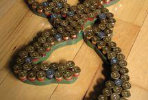 Crafts--BULLETS & SHOTGUN SHELLS / by Jennifer Brown