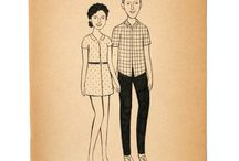 My Work: Custom Portraits & Paper Dolls