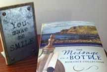 Reader Photos--The Message in a Bottle Romance Collection / Pictures of Readers of The Message in a Bottle Romance Collection, a 2017 historical release by Barbour Books