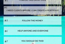 Business Tips + Entrepreneur's Life / Design inspiration and tutorials for the Creative Online Entrepreneur. Design for the Non-Designer   design resources, freebies,visual vibes, graphic design tips, learn to design like a PRO, graphic design tips and tricks, how to design, understand graphic design, graphic design resources