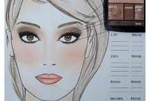 Makeup & face products