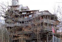 Constructions en bois insolites / Le bois donne accès à des constructions insolites et originales, partout dans le monde.