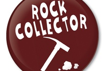 Button Badges - Geology / A collection of geology pinback button badges with a touch of humor that have sayings related to fossils, rocks and minerals for collectors.  Also, photos of outstanding specimens that caught my eye.