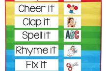 Word work & spelling