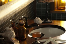 vintage inspired bathroom / by Scott Maddux