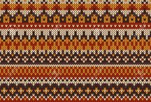 grilles pour tricot fair Isles