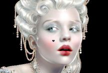 исторический макияж