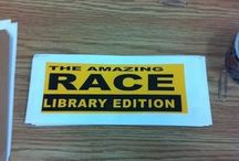 Library escape/amazing room