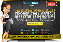 How To Submit Your #Articles To Over 700+ #Article #Directories...