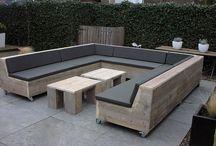 Tuinbanken lounge