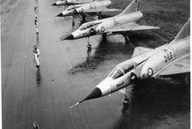 Dassault Mirage III C (& variants) / A swan in the air.