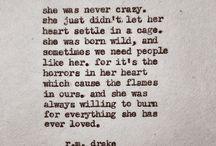 r. m drake quotes