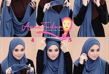 hijaab tying