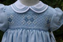 Smocked dress / Childrens wear