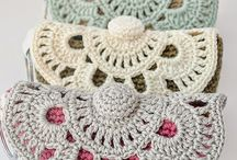 Crochet purse and bag
