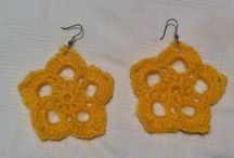 Crochet Jewelry / find handmade crochet jewelry on this board