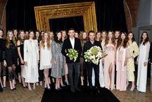 Gatta na pokazie duetu: paprocki&brzozowski.  wiosna/lato 2016 / #Gatta #MarcinPaprocki #MariuszBrzozowski #Fashion #runway #collection #pokaz #moda