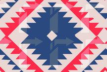 aztec & inca motif art