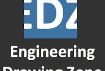 Engineering Drawing Zone / The engineering drawings are the back bones of most if not all the technical developments of our modern era. Well, it actually started centuries ago so the technical drawings are the mankind technological back bone !  www.engineeringdrawingzone.com