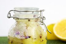 Homemade Scrubs and Soaps / Make your own scrubs and soaps.