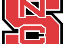 NCSU Wolfpack  / For my brother, sister in-law & cousin. All of whom went to State. Hate I missed out...