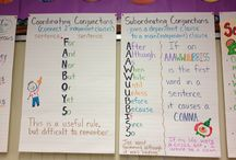 Grammar - Conjunctions / Ideas and inspiration for teaching about conjunctions.
