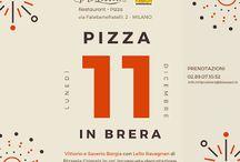 """""""Pizza in Brera"""" da Biosserì con Lello Ravagnan del Grigoris 11 dicembre Milano"""