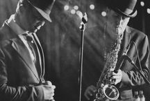 Mad Men Jazz Trio / Mad Men Jazz Trio, smooth live electro swing and funky jazzy house.  Comprised of vocals, saxophone and DJ.