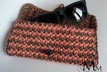 """Crochet Glasses Case / My creations """"Crochet Glasses Case"""" in many colours"""