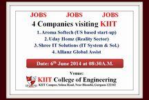 """""""#KIIT Organizes Job Fair"""