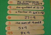 4th grade- Math / by Alli Hrybyk