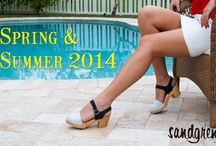Spring & Summer 2014 / Sandgrens' Spring & Summer Collection 2014. See the latest styles of Swedish Clogs, Sandals, and Wedges / by Sandgrens Clogs