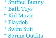 EaStEr IdEaS / by Shanna Dillard