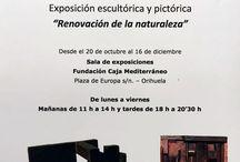 """Nueva exposición """"Renovación de la naturaleza"""" en Orihuela / FRUTOS MARÍA  Exposición """"Renovación de la naturaleza""""  Desde el 20 de octubre al 16 de diciembre Sala de exposiciones Fundación Caja Mediterráneo Plaza de Europa s/n. - Orihuela  http://www.escultorfrutosmaria.com/ http://www.laventanadelarte.es/exposiciones/sala-de-exposiciones-de-orihuela-fundacion-caja-mediterraneo/orihuela/frutos-maria/19968 http://www.cajamediterraneo.es/actividad/exposicion-renovacion-de-la-naturaleza-de-frutos-maria-sala-de-exposiciones-de-orihuela/"""