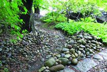 LAR inspiration / Løsninger til Klimatilpasning igennem lokal afledning af regnvand. Idéerne kan også blot være broer eller vandelementer, som inspiration til LAR anlæg