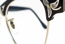 Vintage Eyewear / Eyeglass and sunglass looks that we love from the past!